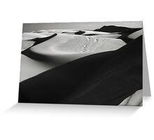 Dune Shadows Greeting Card