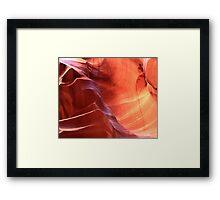 Navajo Sandstone Framed Print