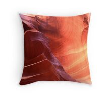 Navajo Sandstone Throw Pillow
