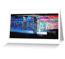 South Bank Skatepark Greeting Card