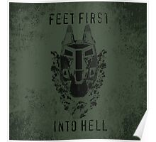 Feet First into Hell - Halo ODST Poster