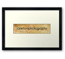 janetleephotography Framed Print
