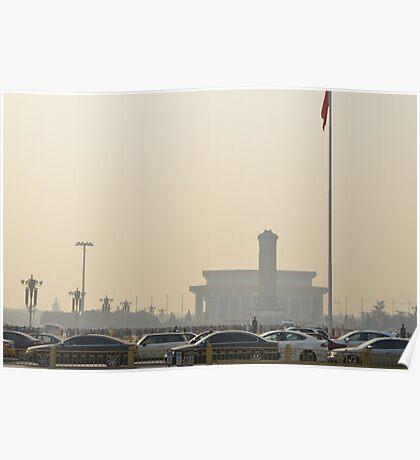 Tiananmen Square Poster