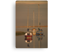 Golden Hour at the Riverside 2  Canvas Print