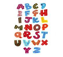 Alphabet  by Paperscratchers