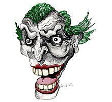 Crazy Clown Photographic Print