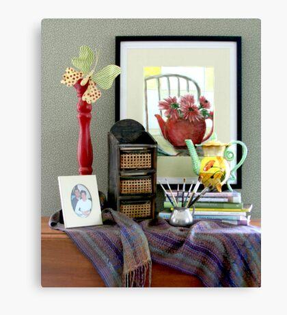 Teapot Whimsy Canvas Print