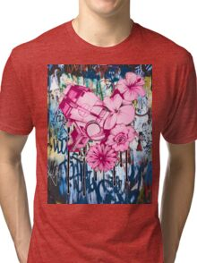 ecology vs economy Tri-blend T-Shirt
