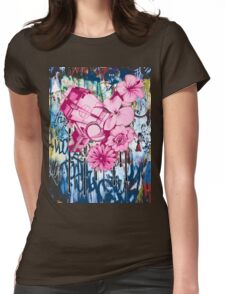 ecology vs economy Womens Fitted T-Shirt