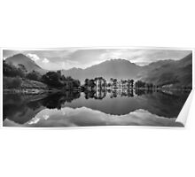 Buttermere Lake Reflection Poster