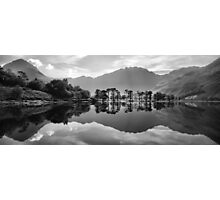Buttermere Lake Reflection Photographic Print