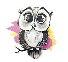 Owly Photographic Print