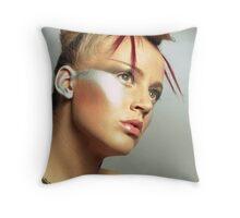 Beauty shot Throw Pillow