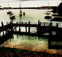 Gladesville Wharf by Roger Barnes