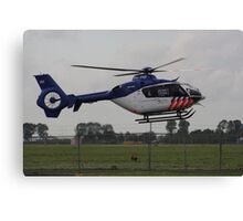 New Helicopter for Dutch police Canvas Print