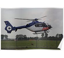 New Helicopter for Dutch police Poster