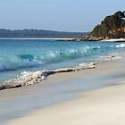 Chinaman's Beach Panorama by PurelyPrime