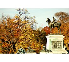 Fall in DC Photographic Print