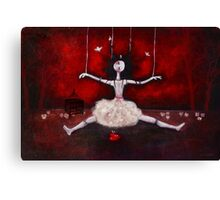 Broken doll Canvas Print