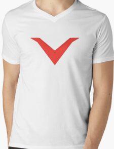 Mazinger Chevron Mens V-Neck T-Shirt