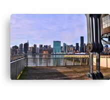 Manhattan View From Long Island City Canvas Print