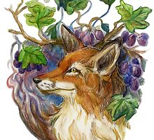 Fox and Grapes by allthingswillbe