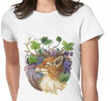 Fox and Grapes Womens Fitted T-Shirt