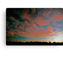 Tongues of Fire Canvas Print