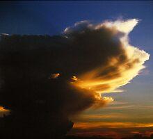Thunderhead - Kansas by Kent DuFault