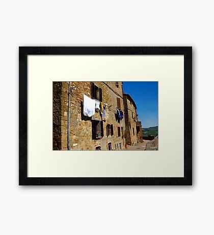 Pienza Italy  Framed Print