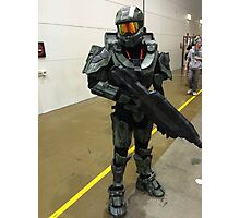 Halo Character Photographic Print