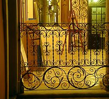 Wrought Iron Balustrade by sstarlightss