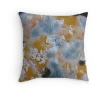 The Beauty of Moldy Cheese Throw Pillow