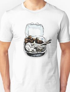 #12 Spicy Chicken Plate Unisex T-Shirt