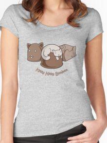 Kitty Kitty Bonbon Women's Fitted Scoop T-Shirt