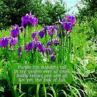 Card #2- Iris Garden by L J Fraser