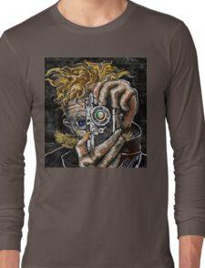 Retro Hipster Selfie Long Sleeve T-Shirt