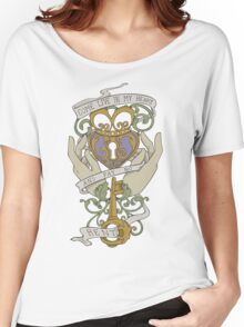 Come Live In My Heart - Claddagh Women's Relaxed Fit T-Shirt
