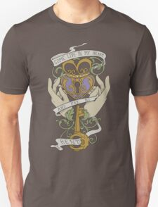 Come Live In My Heart - Claddagh Unisex T-Shirt