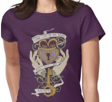 Come Live In My Heart - Claddagh Womens Fitted T-Shirt