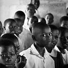 Schoolroom in Uganda by Peter Maeck