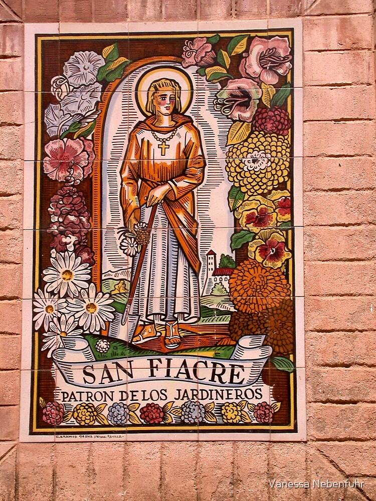 Patron Saint of Gardens by Vanessa Nebenfuhr