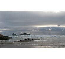 Grey Seas Photographic Print