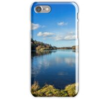 Lake Above The Village iPhone Case/Skin