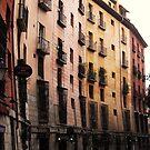 Curved buildings in Madrid by twoboos