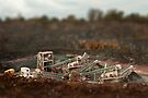 Tilt Shift of the Quarry by Matt Sillence