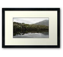 Tidal River Reflections Framed Print