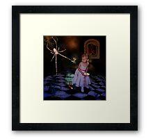 """""""Little Miss Muffet"""" Framed Print"""