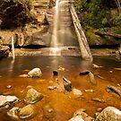 Snug Falls - SE Tasmania by Liam Byrne
