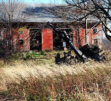 Weaver Road Barn by Judy Seltenright